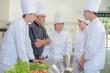 restaurant kitchen team