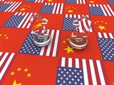 Usa vs China. Political and economic relations and conflicts between this countries.