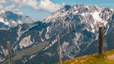 Beautiful alpine view at Leogang - Tyrol - Austria