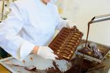 Chef working with liquid chocolate - 226072061
