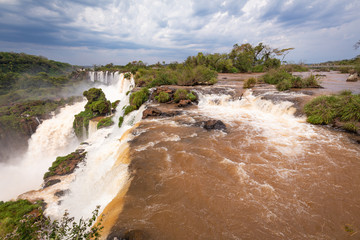 breathtaking view of iguazu waterfalls © Rochu_2008