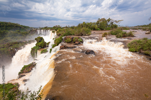 breathtaking view of iguazu waterfalls - 226078093