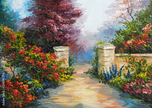 oil-painting-house-near-the-sea-colorful-flowers-summer-seascape