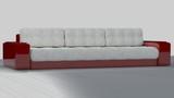 ferrari sofa. red/white