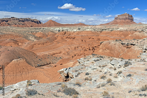 Colorful Formations in a High Desert
