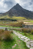 Stunning landscape image of countryside around Llyn Ogwen in Snowdonia during early Autumn - 226170257