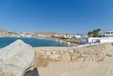 Ornos beach and village - Mykonos island - Aegean sea - Greece - 226172857