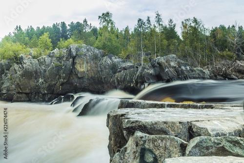 karelia waterfall - 226174474
