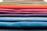Samples of colored cloth - 226176056