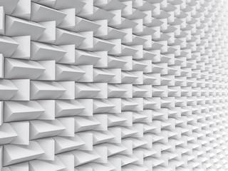 White pattern futuristic background texture 3d illustration.
