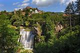 Wasserfall in Jajce, Bosnien