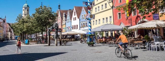 Panorama Weiden in der Oberpfalz Altstadt