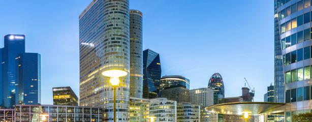 Les tours de La Défense Paris
