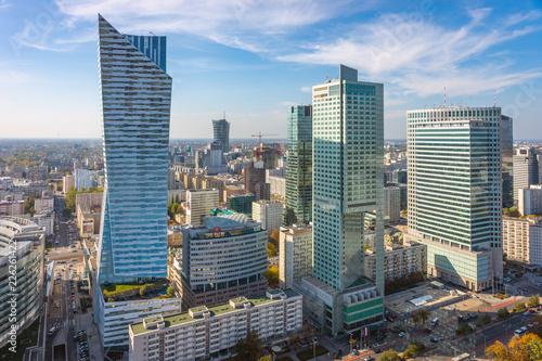 Fototapety, obrazy : City Center of Warsaw, Poland