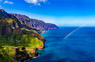 Napali Coastline of Kauai Hawii © Drew