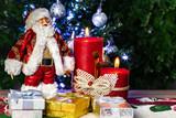 Santa bringing gifts for everyone.