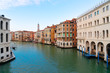 Quadro Grand Canal with facades of historical houses ans palaces, Venice Italy