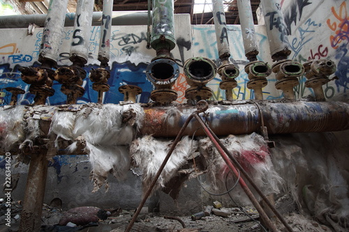 Foto Murales Lost Place Fabrik