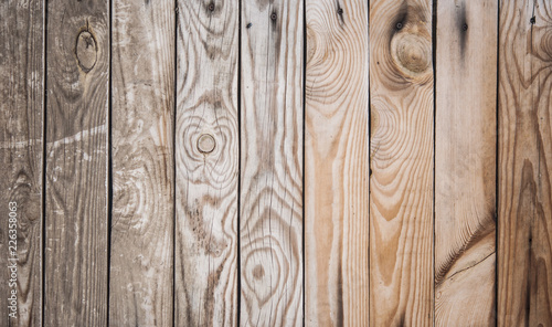 wooden fence panel background - 226358063