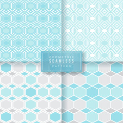 Geometric Seamless Tile Pattern © Kiky Gravisi