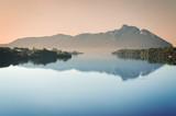 View of Sabaudia lake - Circeo National Park - Latina Italy