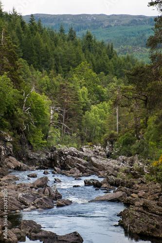 Foto Murales Rapid of low water level