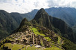 panorama of machu picchu with huayna picchu in background