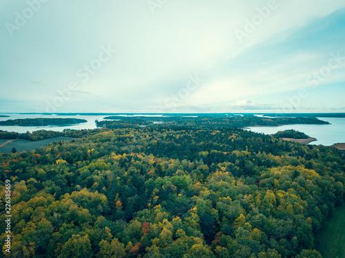 Ruissalo national park at October. Turku, Finland. - 226385659