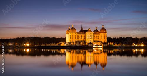 Leinwandbild Motiv Schloss Moritzburg bei Dresden, Deutschland