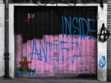 Inside Antifa Graffito