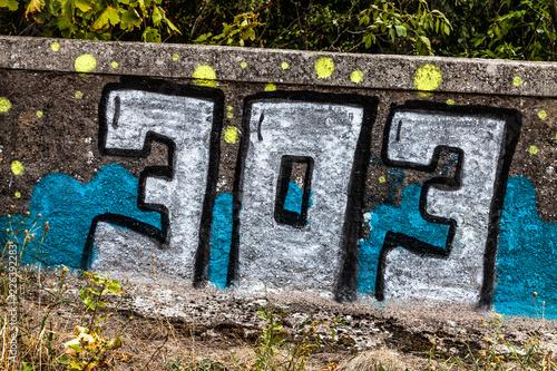 303 Graffito Sachbeschädigung - 226392283