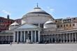 Quadro Basilique San Franseco di Paola à Naples (Italie)