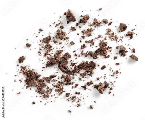 small chocolate crumbs