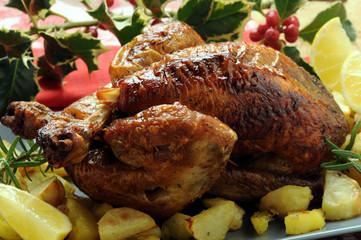 Pollo arrosto asado Brathähnchen gebraden kip roast chicken 6112857