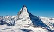 Leinwandbild Motiv Matterhorn Schweiz