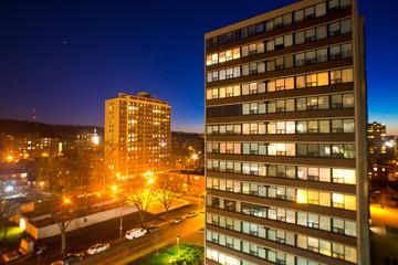 modern city at night © ZENG