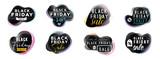 Black friday sale typography. - 226442086
