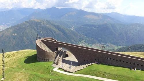 Monte Tamaro dal drone