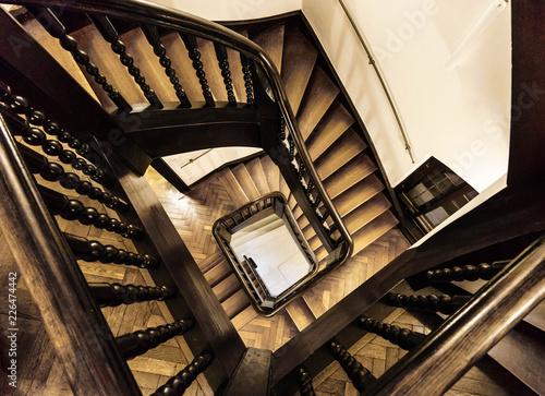 Spiralförmiges Treppenhaus