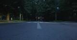 Joggers running at morning in city park - 226487854