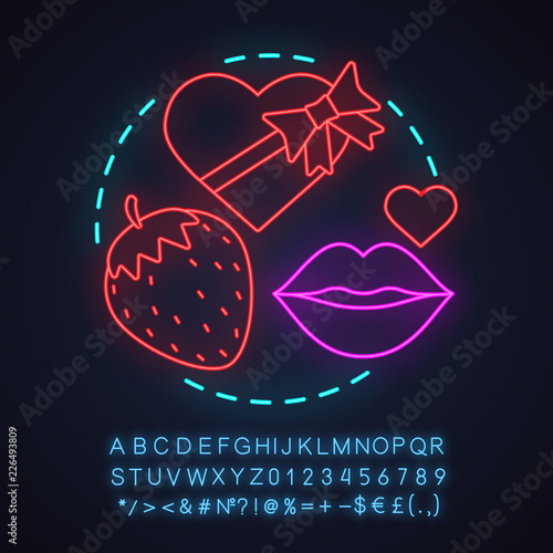 Sex shop neon light concept icon © bsd555