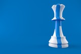 Chess with finnish flag