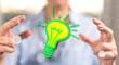Quadro Concept of green energy