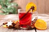 christmas tea or mulled wine