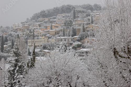 St  Paul de Vence sous la neige - 226521088