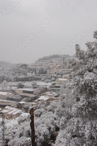 St  Paul de Vence sous la neige - 226521484