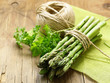 natural organic green asparagus vegetable - 226527472