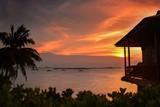 Golden Sunset Wonderful Bintan Indonesia