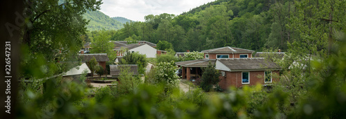 Village in the mountains - 226547231