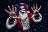 cool punk santa - 226555469